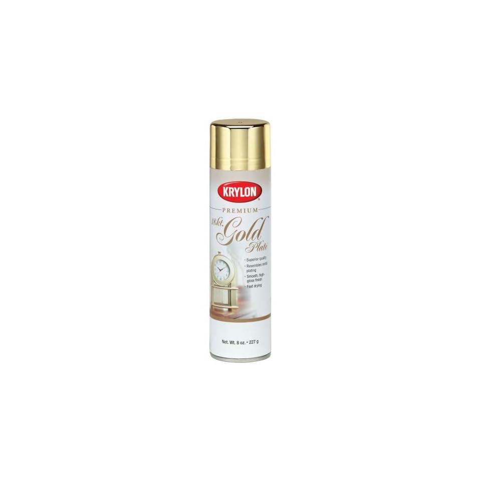 Krylon Premium Metallic Spray Paint   1000 (Qty 6)