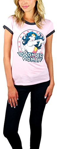 Wonder+Woman+Shirts Products : DC Comics Womens Wonder Woman Ringer Tee