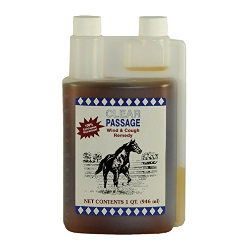 Cox Vet Labs Clear Passage Cough Remedy for Horses, 32 oz (Quart)