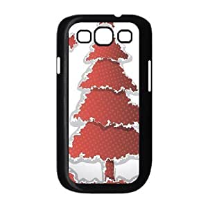 Beautiful Christmas tree New Fashion Case for Samsung Galaxy S3 I9300, Popular Beautiful Christmas tree Case