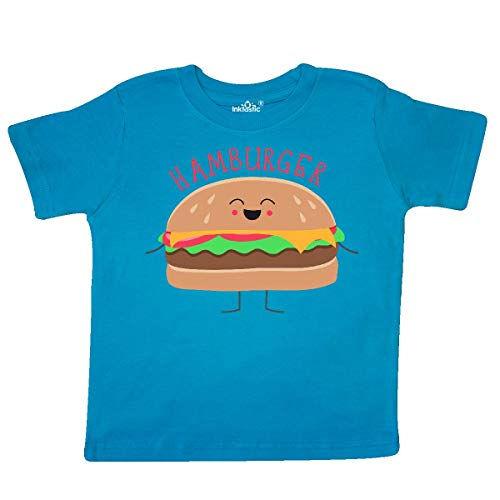 inktastic - Hamburger Costume Toddler T-Shirt 4T Turquoise 31d0b ()