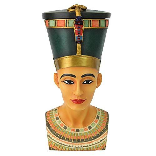 Egyptian D cor Trinket Box – Queen Nefertiti Egyptian Jewelry Box – Goddess Statue