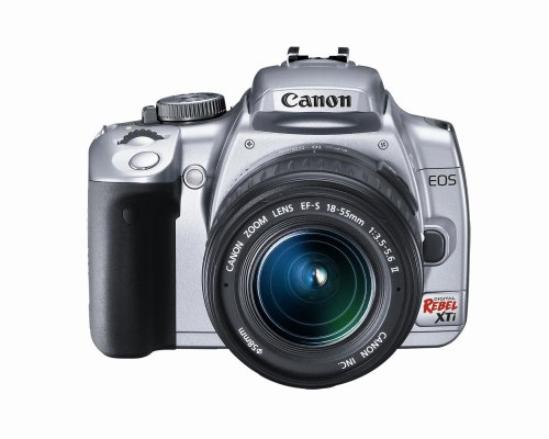 Canon Rebel XTi DSLR Camera with EF-S 18-55mm f/3.5-5.6 L...