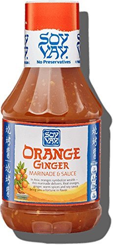SOY VAY, SCE, MRNDE, ORANGE GINGER, Pack of 6, Size 19 FZ - No Artificial Ingredients Kosher