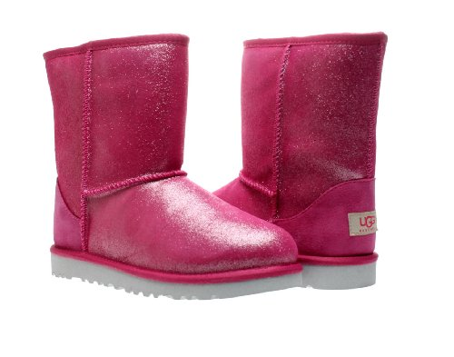 UGG Australia Classic Glitter Fuschia Girls Boots 1002495-FUS Kids 3 - Buy Online in UAE. | Misc. Products in the UAE - See Prices, Reviews and Free ...