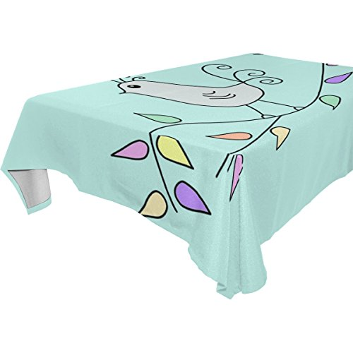 esign Customized Sing A Song Of The Birds Tablecloth 54x72(in) ()