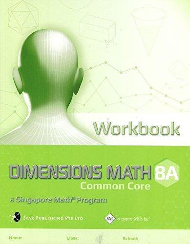 Dimensions Math Common Core Workbook 8a
