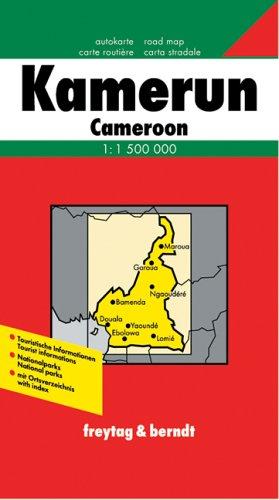 Freytag Berndt Autokarten Kamerun (Road Maps of the Middle East a)