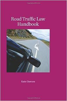 Book Road Traffic Law Handbook