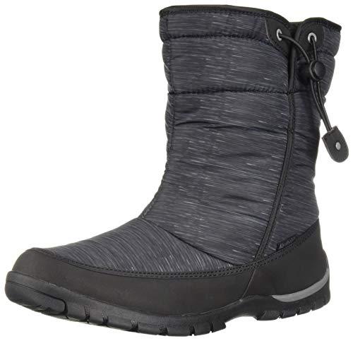 Northside Celeste - Botas de Nieve para Mujer, Negro/Gris, 8 M US