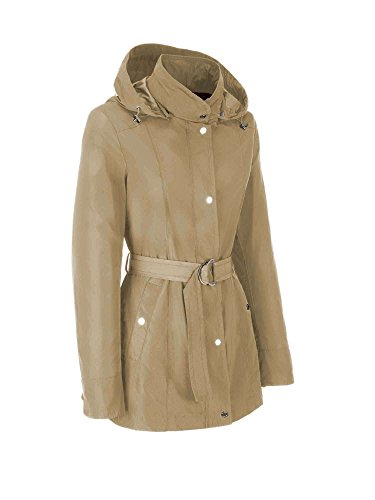 Beige Blouson Woman Geox Jacket Femme w4I76q