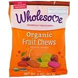 Wholesome Sweeteners, Inc., Organic Fruit Chews, 2 oz (57 g)(Pack of 3)