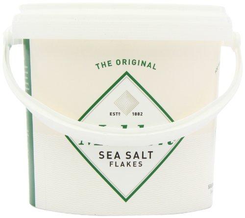 Maldon Sea Salt Flakes 1.5kg/3.3lbs Tub by Salt Traders (Image #3)