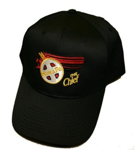 Daylight Sales at&SF Santa Fe Chief Embroidered Hat [hat42] Black ()