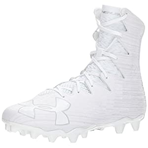 Under Armour Men's Highlight M.C, White (100)/Metallic Silver, 11