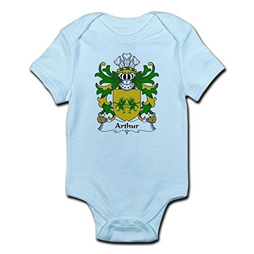 - CafePress Arthur I (Ab Uthr Pendragon-King Arthur) Infant Bo Cute Infant Bodysuit Baby Romper