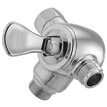 DELTA FAUCET 543423 Master Plumber Chrome 3 Way Water Diverter ...