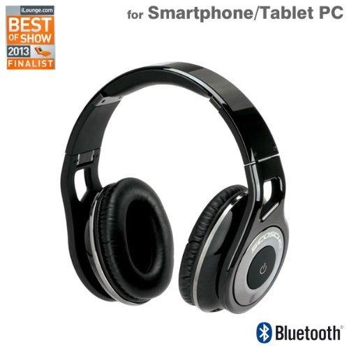 - Scosche Industries REALM Bluetooth Wireless Headphones RH1060 SCO-REALM-BLTH-BK