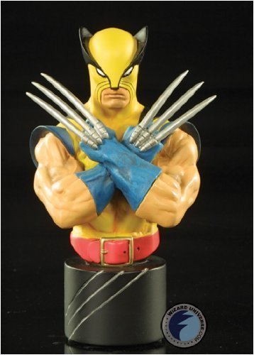 Wolverine 25th Anniversary (Yellow Variant) Mini Bust Bowen Designs!