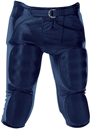 Don Alleson Youth Dazzle Football Pants (Navy, (Alleson Football Pants)