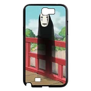 Samsung Galaxy Note 2 N7100 Phone Case Black Spirited Away CXF345609