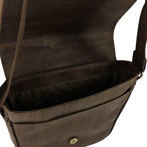 A14125 CorkLane bolso Braun Mujer Kork bandolera UqgdwCq