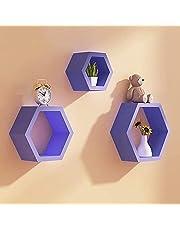 Hexagon Shelf Decor 3 Piece