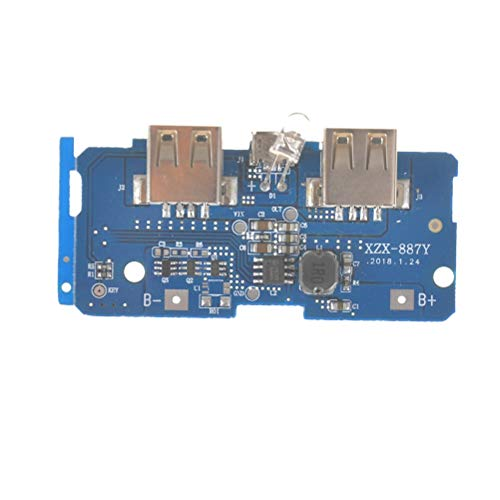- Connectors - 5v 2a Power Bank Charger Module Charging Connector Board Step Up Boost Supply Dual Usb Output 1a - Cover Power Circuit Wireless Offer 20000 Connector Delivery Module Cell Charge