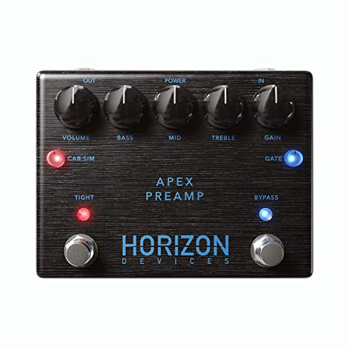(Horizon Devices Apex Preamp Modern Distortion Pedal For Electric Guitar)