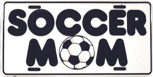 Soccer Mom Novelty license plate