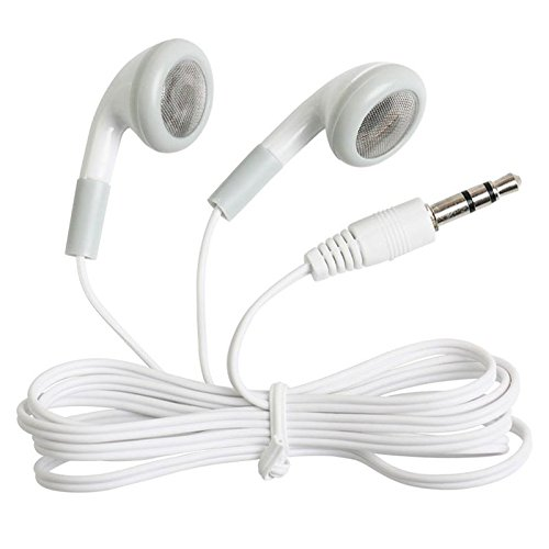 - Wholesale Wired Cell Phone Headsets Bulk Earbuds Headphones 100 Pack For Iphone, Android, MP3 Player - White