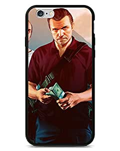 Animation game phone case's Shop 3072861ZA341923294I5S Premium Grand Theft Auto V Trevor, Michael and Franklin Back Cover Snap On Case For iPhone 5/5s