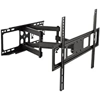 ViiRO Premium Full Motion TV Wall Mount Bracket +/- 60 Degree Swivel +5/-15 Degree Tilt Which Suits LCD, LED Or Plasma Flat Screen or Curved TVs 37 To 70 (37 Inch - 70 Inch) - Max VESA 600x400 mm