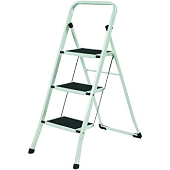 Sturdi Collection 1624-12 Folding Lightweight Step Ladder Step Stool 3- Steps  sc 1 st  Amazon.com : jml folding plastic step stool - islam-shia.org