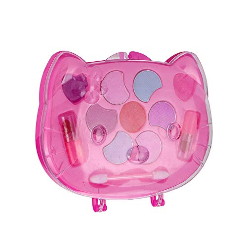 AckfulGirl's Pretend Play Toy Princess Makeup Palette Set for Kids Children Non -