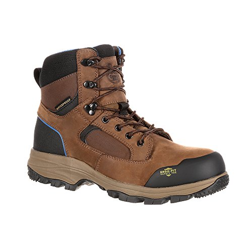Georgia Boot Work Mens Blue Collar CT WP Hiker 14 W Brown GB00108