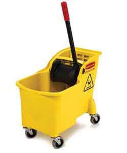 - Rubbermaid Comm Prod 31QT Tandem Bucket, Yellow