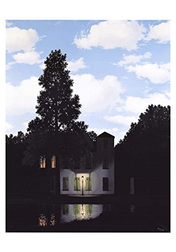 (L'Empire des Lumieres by Rene Magritte 33.5