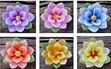Thai Lotus Floating Candle Handmade 12