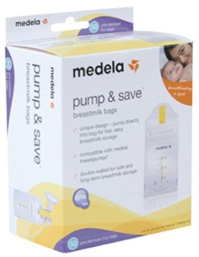 Medela Pump & Save Storage Bags 50-pk.