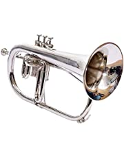 Best Band For Music Fest-2019, Flugel Horn 3 Valve, Bb (BRASS) With Mouthpiece And Hard Case