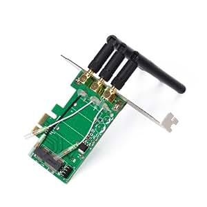 MiniPCI-E to PCI-E Wireless Adapter