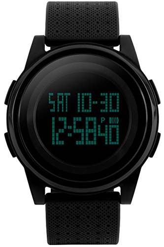 Men Women Fashion Minimalist Digital Watch Sports Casual Black Electronic Watches Waterproof