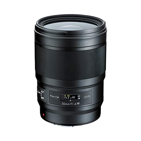 RetinaPix Tokina Opera 50mm F1.4 FF for Canon EF Mount, (Model: TOK50CEF)