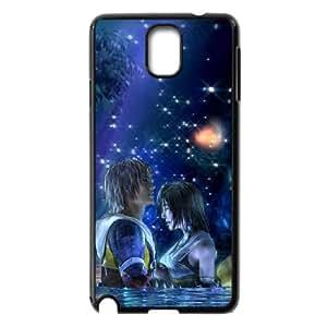 Samsung Galaxy Case Nota 3 Covers Negro Final Fantasy X único protector de caja del teléfono A8D0IP