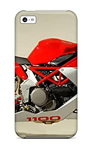 For Iphone 5c Tpu Phone Case Cover(bimota Db5s 8211 Motorcycles Photo)
