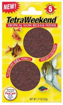Vacation Gel Feeder - Tetra 77151 5 Day Gel Fish Feeder