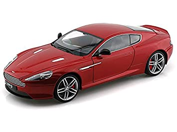 Aston Martin DB9 Coupe, Met. Red, LHD , Model Car, Ready