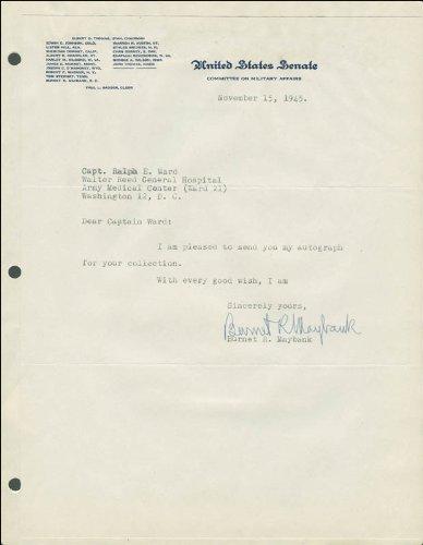 burnet-maybank-typed-letter-signed-11-15-1945
