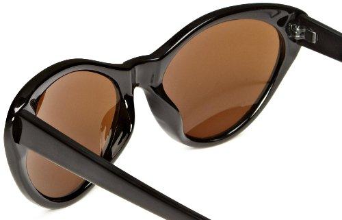 Lunettes Noir Black Iconeyewear Brown de Soleil Femme c0awBPTPdq